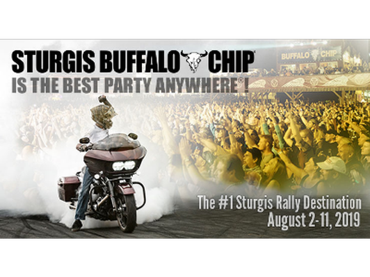 2 Pack Ticket and Camping to Buffalo Chip at Sturgis Bike Rally
