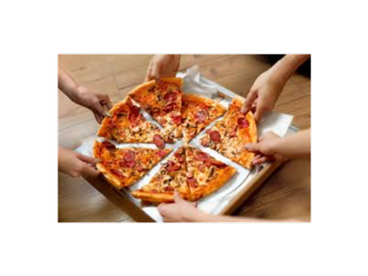 Pizza Lunch with Ms Apicella