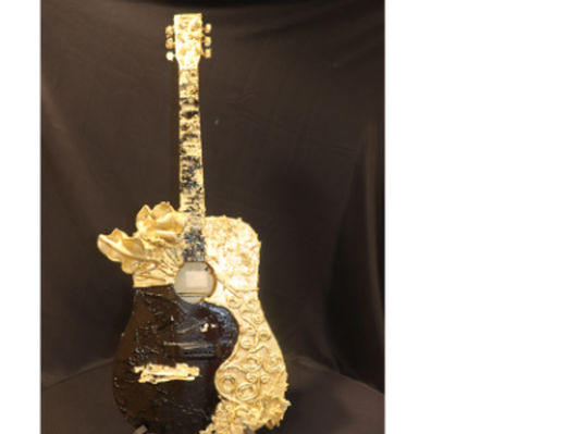 Guitar by Sarah Tinsley Parker
