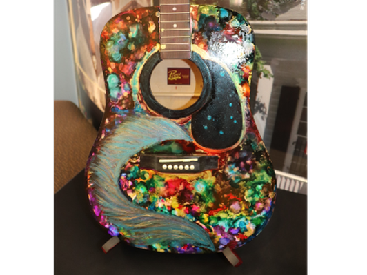 Guitar by Deonna Belcher