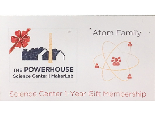 The Powerhouse Science Center-1 Year Family Membership