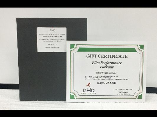 PHD Wellness-Elite Performance Package