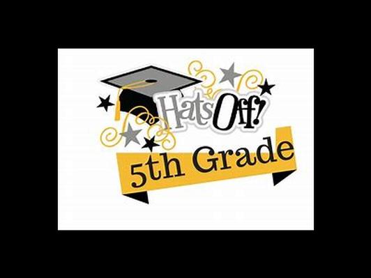 Front Row 5th Grade Graduation Seats