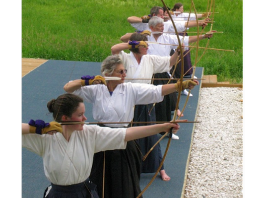 Japanese Archery for Beginners - Kyudo First Shot