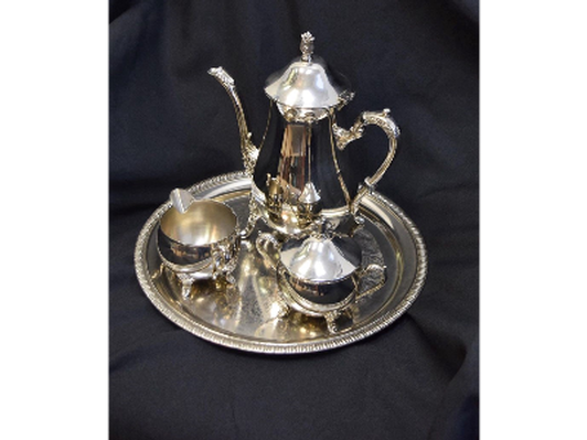 4 pc Silverplate Tea Service