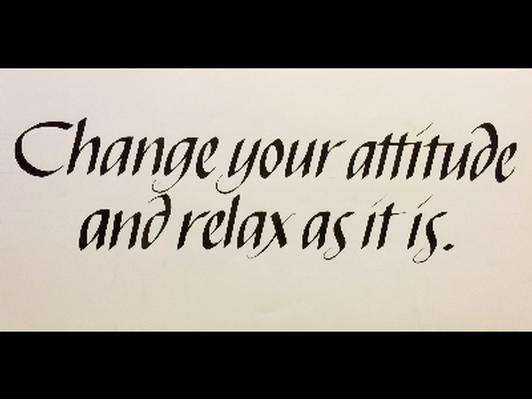 Print: Change Your Attitude