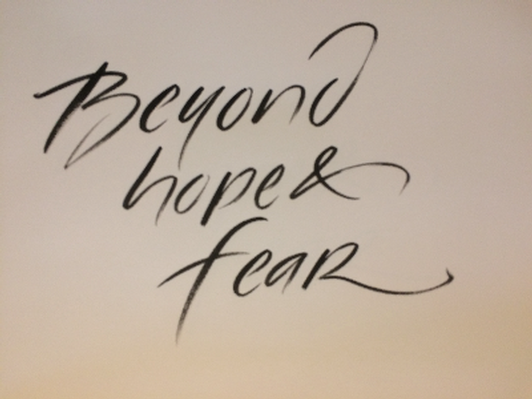 Print: Beyond Hope and Fear