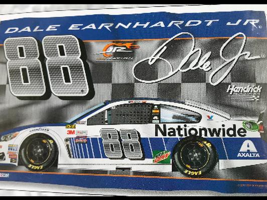 NASCAR #88 Dale Earnhardt Jr 2-sided 3' x 5' Flag