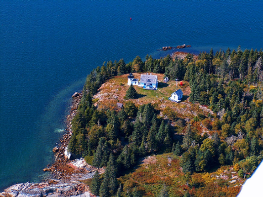 Scenic Flight of Acadia