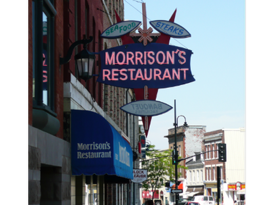 $60 in gift certificates donated by Morrison's Restaurant