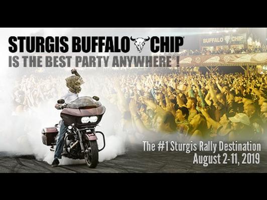Sturgis Buffalo Chip Festival (2 passes)