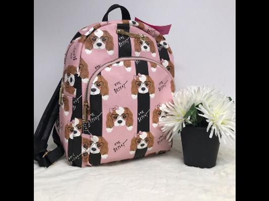 Betsy Johnson Cavalier Backpack RARE!