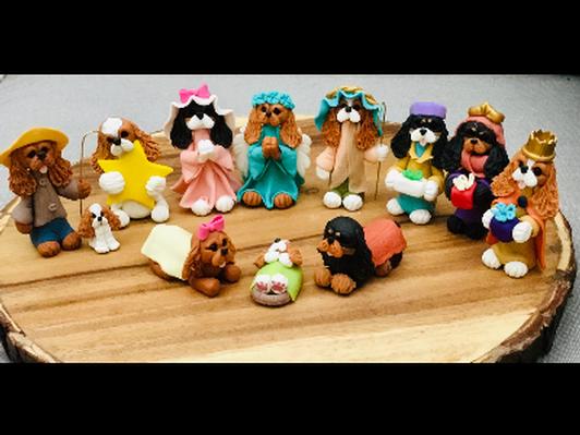 Cavalier Nativity Set