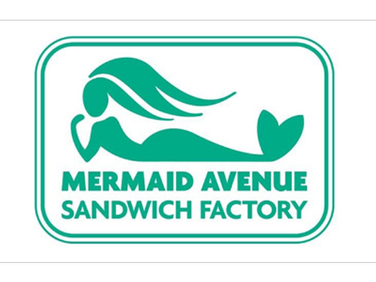 $50 gift certificate donated by Mermaid Avenue Sandwich Factory