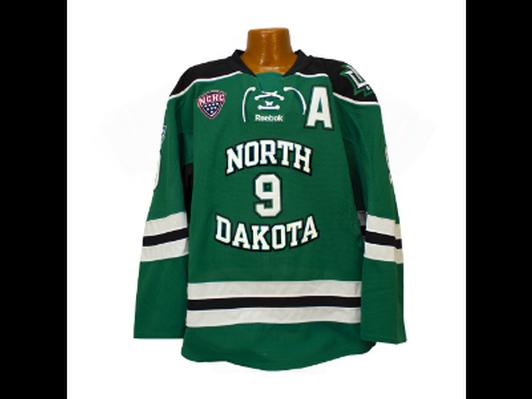 Drake Caggiula Signed University of North Dakota Authentic Jersey