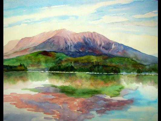Katahdin by Evelyn Dunphy