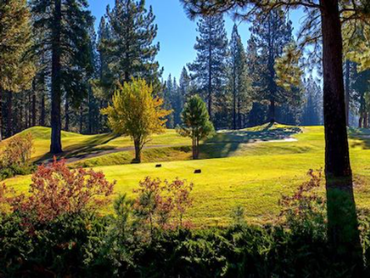 Golf for Two at Plumas Pines Golf Resort