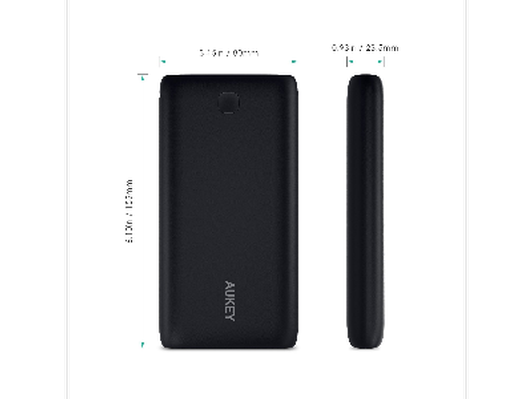 AUKEY 20000mAh Portable External Battery Charger