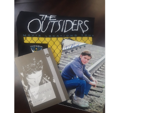 The Outsiders - Signed Book and Picture
