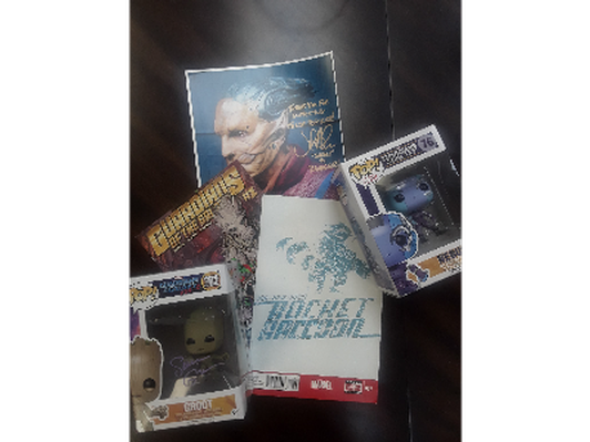 Guardians of the Galaxy Autographs