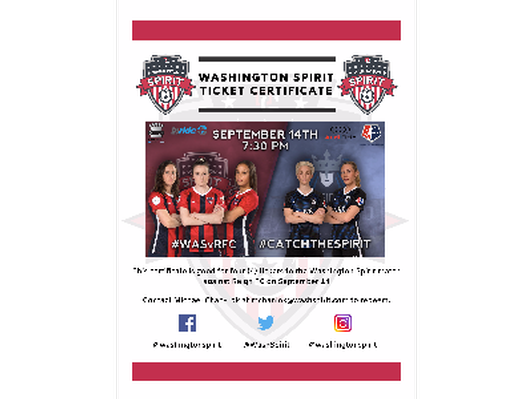4 Tickets to Saturday's Washington Spirit vs. Reign FC at Audi Field