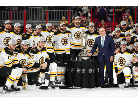 Cheer on the Bruins with two tickets for a game in the 2019-2020 Season