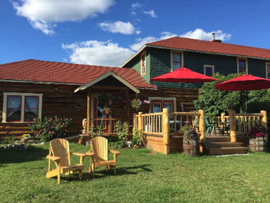Visit the Historic Chilcotin Lodge and enjoy the Gift Store, Tea House, Dinners or a Stay
