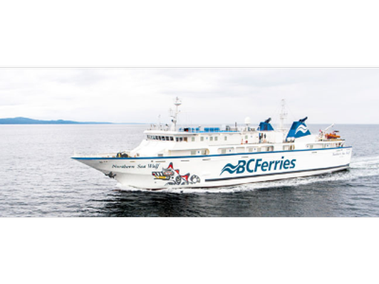 Enjoy a round-trip ferry ride between Port Hardy to Bella Coola