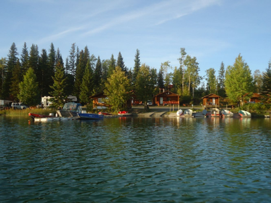 Explore Loon Bay Resort on beautiful Sheridan Lake