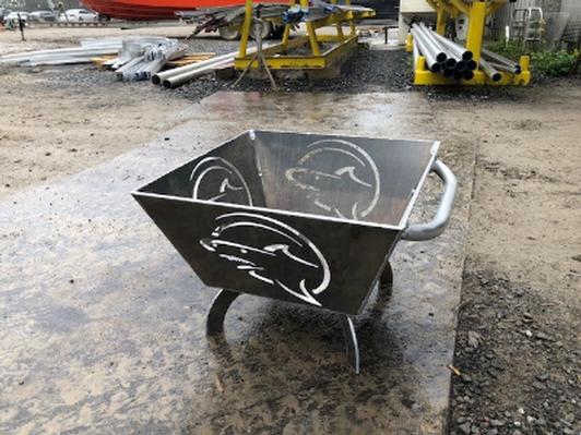Metal Shark Boats Aluminum Firebox/Pit