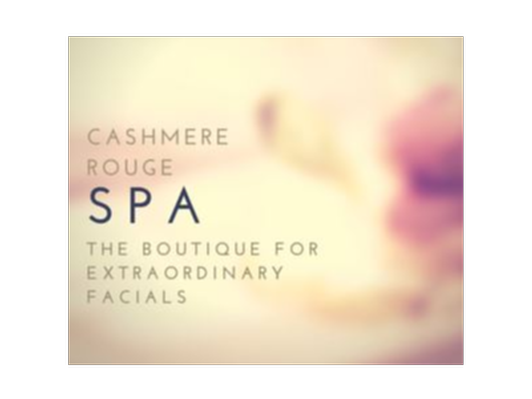 Cashmere Rouge Spa Monthly Gift Certificates for a Year