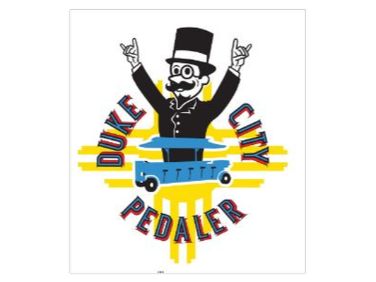 Duke City Pedaler-Social Ride & JC'S NY Pizza Dept Gift Card