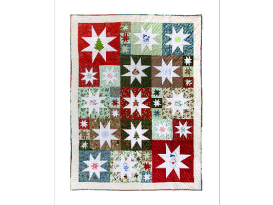 Holiday Wonky Star Quilt