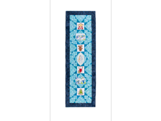 Quilted Snowflake Holiday Runner