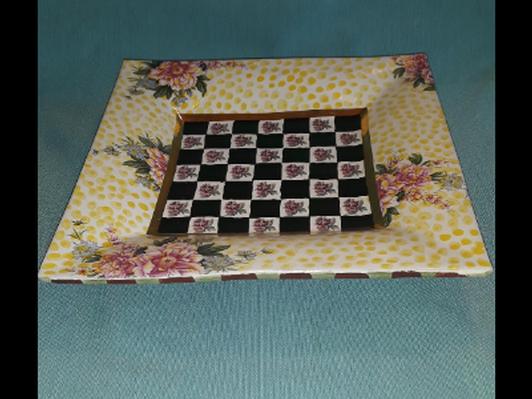 MacKenzie Childs Torquay Square Platter