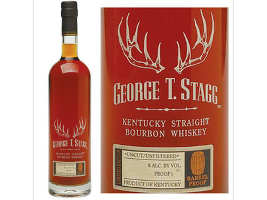 Bottle of George T. Stagg Kentucky Straight Bourbon