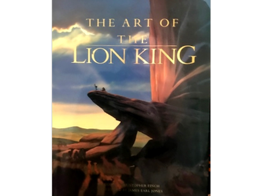 Art of the Lion King Book - 1st Ed