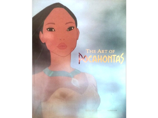 Art of Pocahontas - First Edition -book
