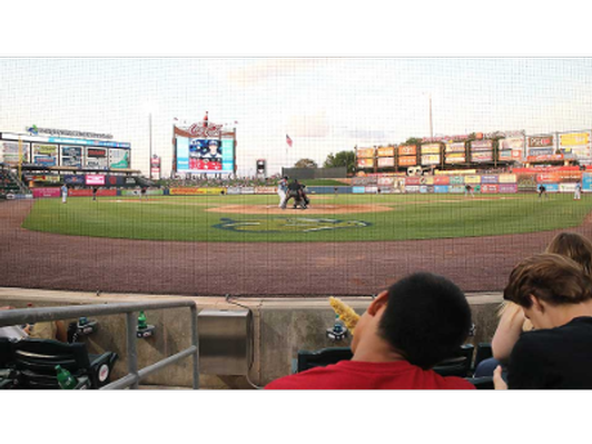 WFMZ Suite at the Lehigh Valley Iron Pigs Game