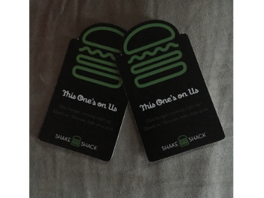 Shack Burger 2 Gift Cards