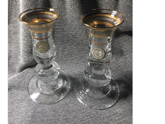 Gold and Platinum Glasses from Turkey