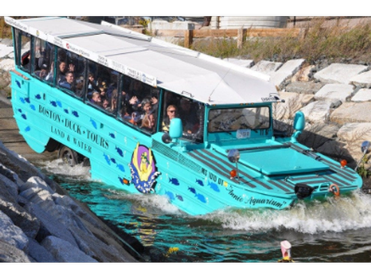 Duck Charter for 35 People in Boston