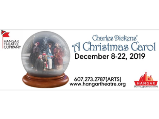 2 Tickets to A Christmas Carol at the Hangar Theatre