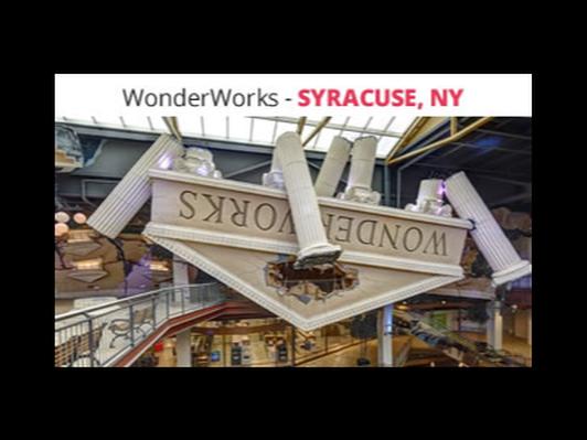 4 VIP Tickets to WonderWorks Destiny USA