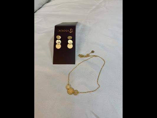 Necklace & Earrings Set from Breathe