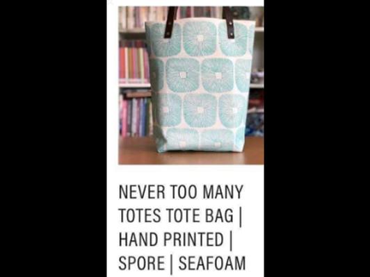 MIMBY Handmade Tote Bag