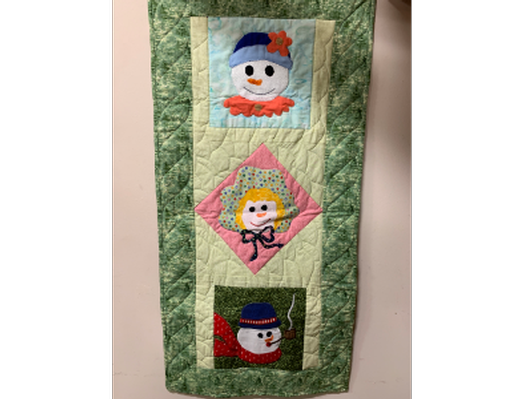 Quilted Snowman Wall Hanging
