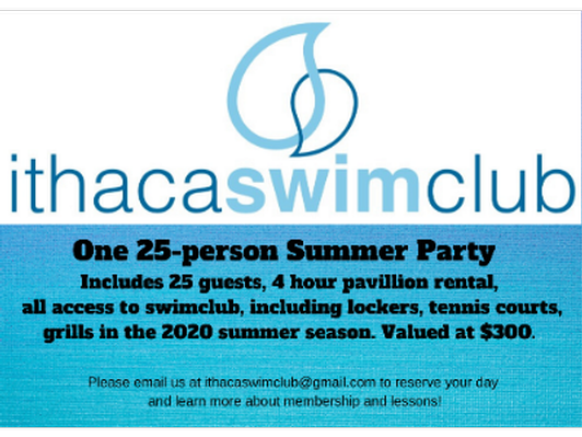 Swim Party for 25 at Ithaca Swim Club