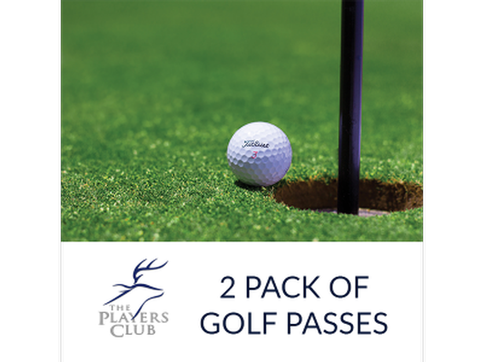 2 Golf Passes to Players Club