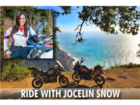 Ride with Jocelin Snow, 3-Days/2-Nights, All Inclusive